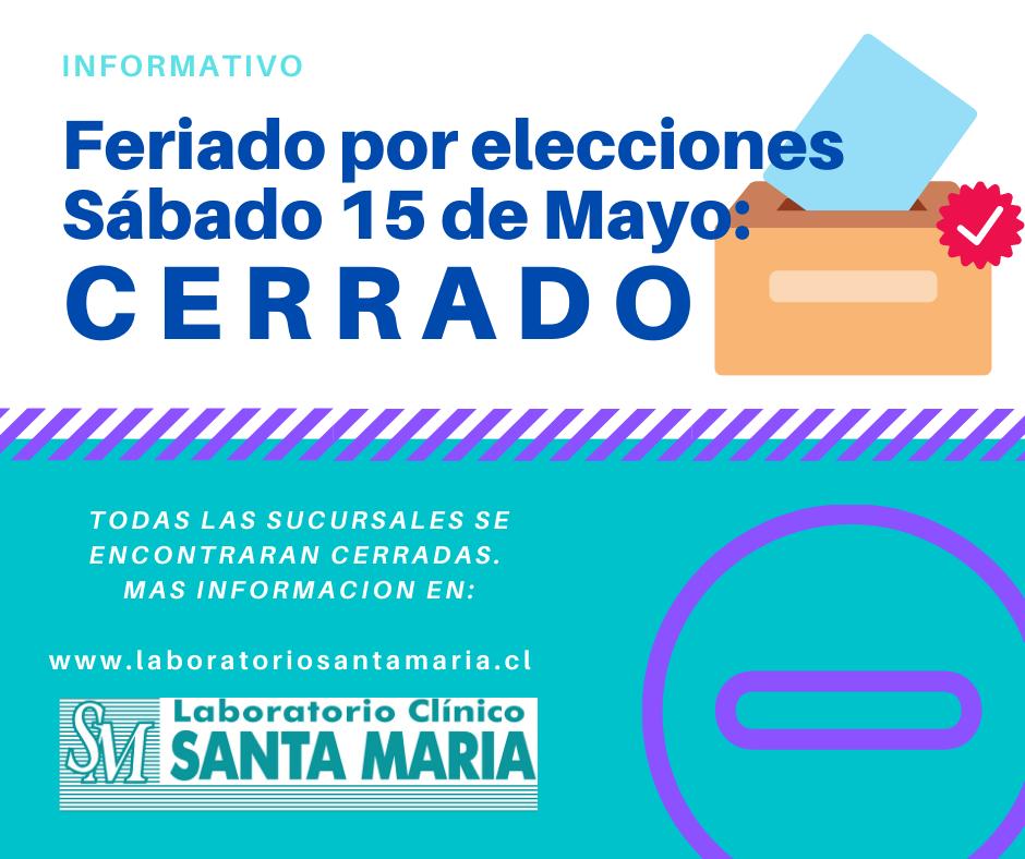 Feriado por Elecciones